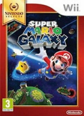 Super Mario Galaxy Selects Nintendo Wii New Game