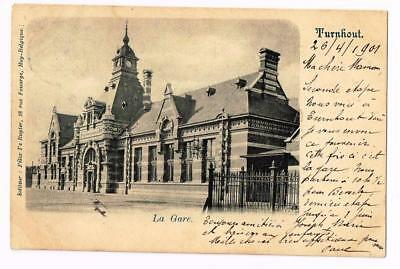 GARE STATION   TURNHOUT     cpa 2026