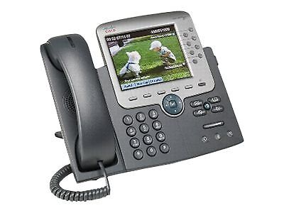 NEW! Cisco CP-7975G= Ip Phone 7975 Gig Ethernet Color