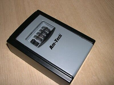 Am-Tech Wall Mounted 4 Digit Secure  Key Storage Box