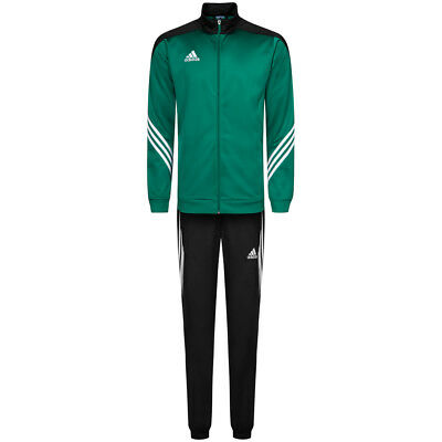 132c59dc0117 ADIDAS SERENO 14 Men s Polyester Tracksuit Sport Suit F49714 Green New -  £27.24