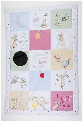 Rainbow Designs GUESS HOW MUCH I LOVE YOU JUMBO ACTIVITY PLAY MAT Baby - NEW