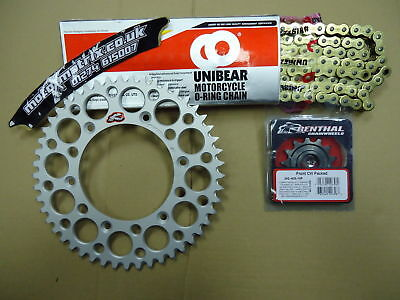 O Ring Chain Renthal Sil Sprocket Kit Gas Gas ECF 250 300 450 13 14 15