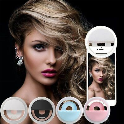 LED Selfie Ring Light Supplementary Lighting Night Darkness Selfie Enhancing