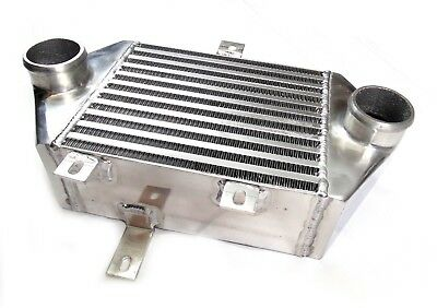 Universal front/side mount Bar & Plate Alloy Intercooler Core Size:240x195x100mm