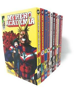 My Hero Academia Series Collection 10 Books Set By Kohei Horikoshi 978729310024