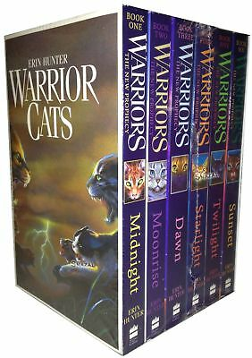 Warrior Cats Collection Erin Hunter 6 Books Set Pack The New Prophecy   Erin Hun