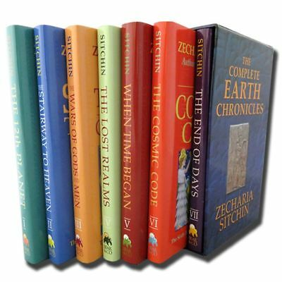The Complete Earth Chronicles 7 Books Set Collection Zecharia Sitchin HB NEW