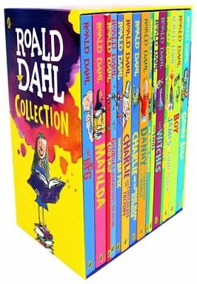 Roald Dahl 15 Books Box Set Collection New Covers, Going Solo, Matilda | Dahl, R