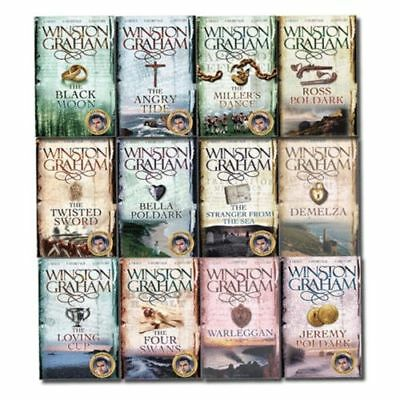 Winston Graham Poldark Series 12 Books Collection Set Bella Poldark | Winston Gr