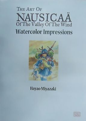 The Art of Nausicaa of the Valley of the Wind Watercolor Impre | Miyazaki, Hayao