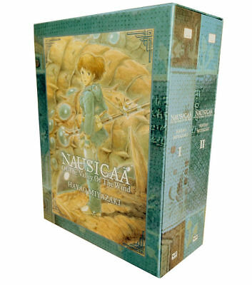 Nausicaa of the Valley of the Wind Box Set 2 Books Collection  | Miyazaki, Hayao