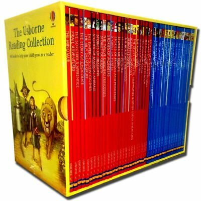 Usborne Reading Library - Young Readers Collection 40 Books Gift Box Set | Not K