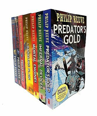 Mortal Engines Collection Philip Reeve 7 Books Set Pack New Chil | Reeve, Philip