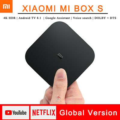 Xiaomi Mi Box S Android 8.1 4K TV Box 5G WIFI Voice Search 2+8G Global Version