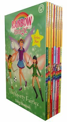 Rainbow Magic Sporty Fairies Collection Daisy Meadows 7 Books Set Series 9 PB