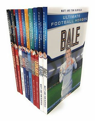 Ultimate Football Heroes Collection 10 Books SetWor | Matt Oldfield Tom Oldfield