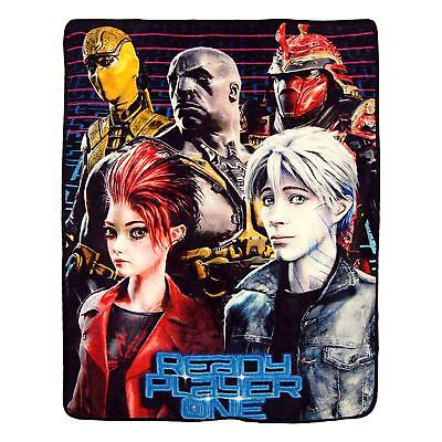 """Super Soft Throws - Ready Player One - Treasure Hunters New 45x60"""" Blanket"""