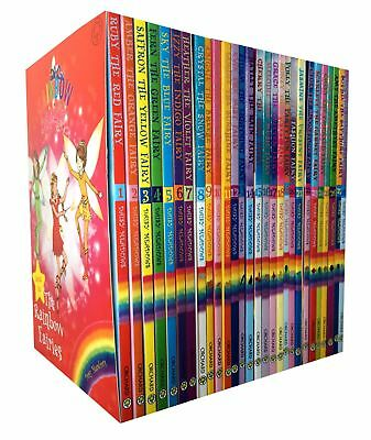 Rainbow Magic Series 1,2,3,4 Collection of 28 Books Set Jewel, P | Daisy Meadows
