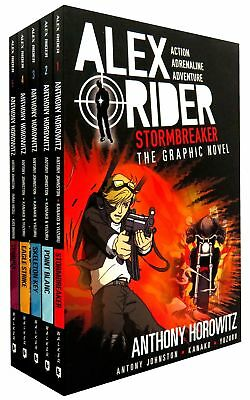 Alex Rider Collection 5 Books Set Collection - Graphic Novels | Anthony Horowitz