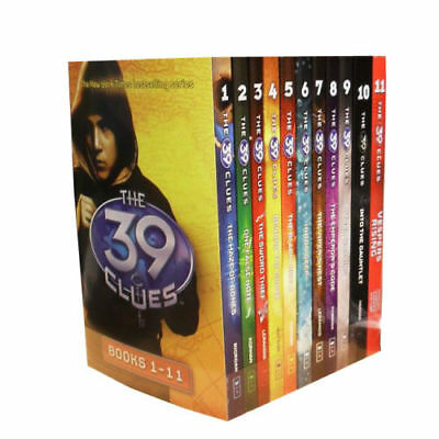 The 39 Clues Collection 11 Books Set Pack Series Collection Digital Cards PB