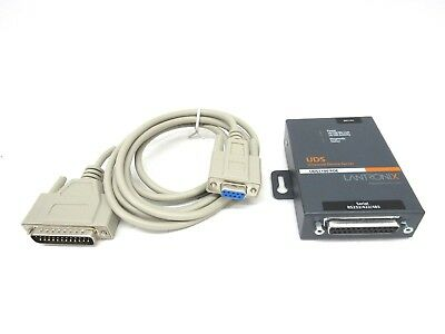 Lantronix UD11000-P0-01 Device Server RS232 RS422 RS485 to IP NOB