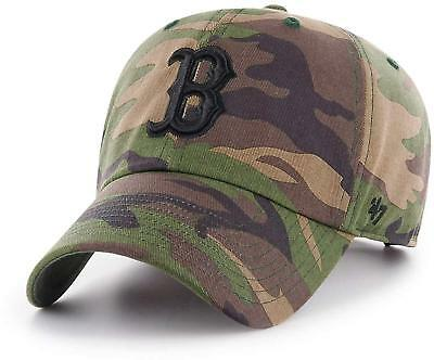 MLB Boston Red Sox Cap Basecap unwashed Baseballcap cleanup Camo Camouflage