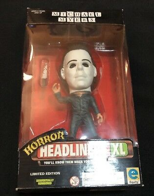 Halloween Michael Myers Horror Headliners XL Limited Edition Collectible 1999