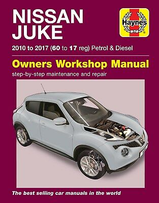 Nissan Juke (10 - 17) Haynes Repair Manual 6380