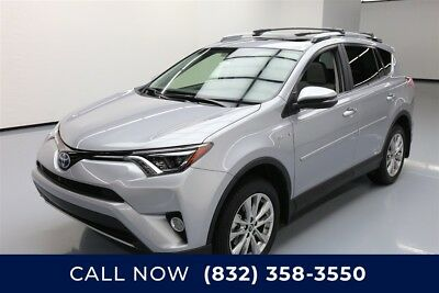 Toyota RAV4 Limited Texas Direct Auto 2017 Limited Used 2.5L I4 16V Automatic AWD SUV Moonroof