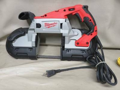 Nice Milwaukee 6232-20 11 amp deep cut variable speed portable band saw tool
