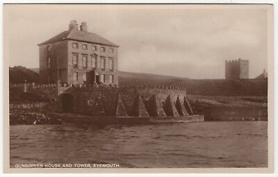 Gunsgreen House & Tower,  Eyemouth,  Berwickshire  (RP)    Unposted  - 7017