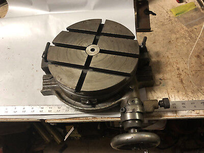 """MACHINIST TOOL LATHE Machinist 10"""" Rotary Table for Milling Machine"""