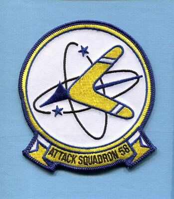 VA-56 CHAMPIONS CHAMPS A-4 SKYHAWK A-7 CORSAIR US Navy Attack squadron Patch