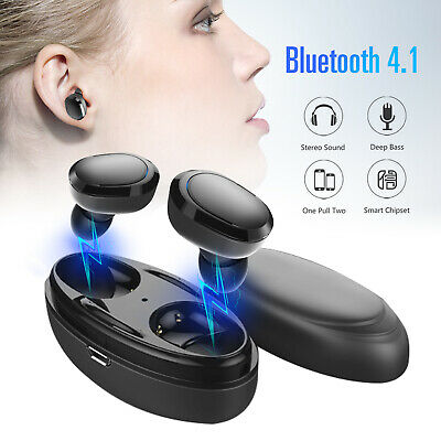 Wireless TWS Mini True Bluetooth Earphone Twins Stereo Headset In-Ear Earbuds
