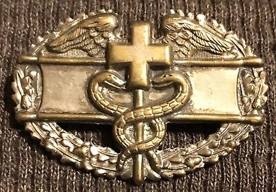 WW2 US Army Full Size Combat Medic Badge Original