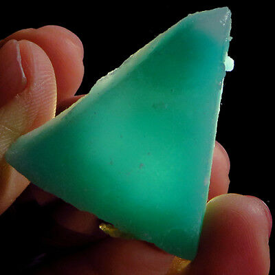 103.25CT Natural Mozambique Green Blue Amazonite Facet Rough Specimen YAS754