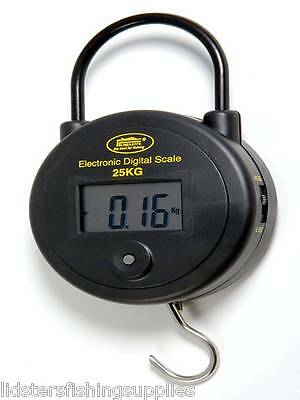 NEW Lineaeffe Round Digital Fishing Weighing Scales 55LB / 25KG Carp Tackle