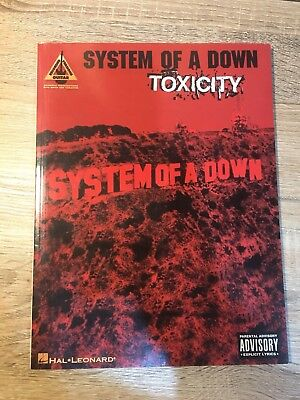 System of a Down Toxicity Guitar Tab Songbook Sheet Music Song Book