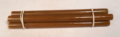 Beautiful rare lot of galalith marbled 5 rods 178 grams