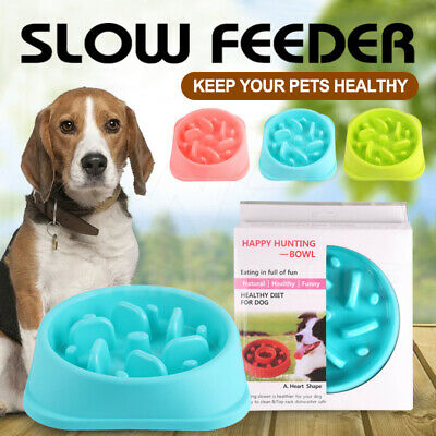 Fun Feeder Dog Bowl Slow Feeder Stop Bloat for Dogs Cats Pet Interactive Feeder