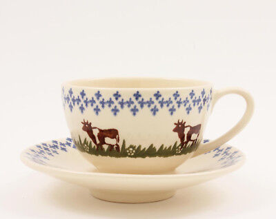 BREAKFAST CUP/SAUCER 300ml COWS