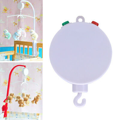 35 Song Rotary Baby Mobile Crib Bed Toy Clockwork Music Box Nursery Bell Gift