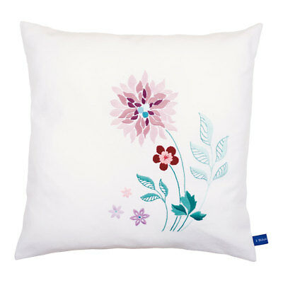 Embroidery Kit Cushion Modern Flowers Design 52% Cotton 48% Model|Size 40x40cm