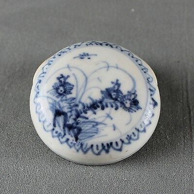 Shipwreck Ca Mau Cargo Chinese Porcelain Cosmetic Box and Cover c1725