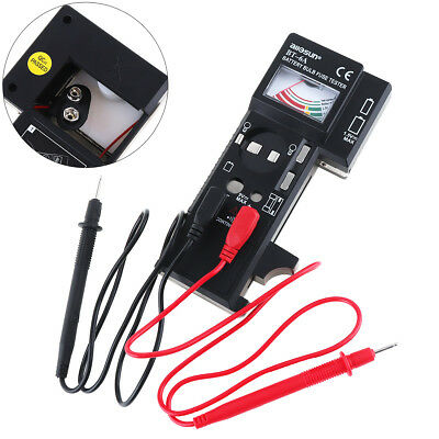 Digital BT6A 3 IN 1 Battery Bulb Fuse Tester With Test Pens for Light Bulb Fuse