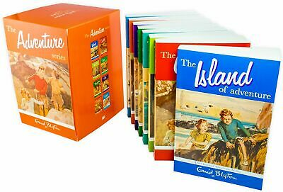 Enid Blyton Adventure Series 8 Books Collection, The Mountain of Adventure, The