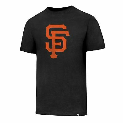 MLB Baseball San Francisco Giants T-Shirt schwarz Club Knockaround Logo 47Brand