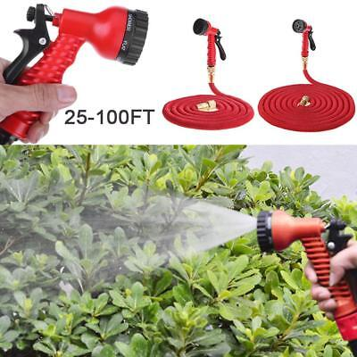 Garden Hose Expandable Flexible Water Hose Pipe Watering Kit with Spray Gun