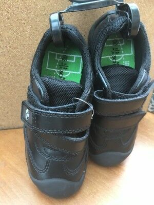 New Marks & Spencer Boys Leather  Velcro School Shoes Size  8   £26.00 New